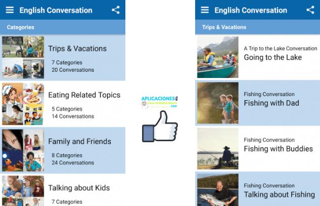 practica conversar inglés