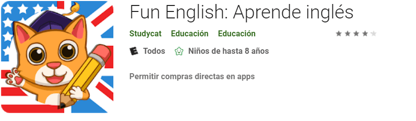 descargar Fun English para aprender ingles