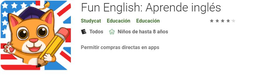 descargar Fun English para aprender ingles