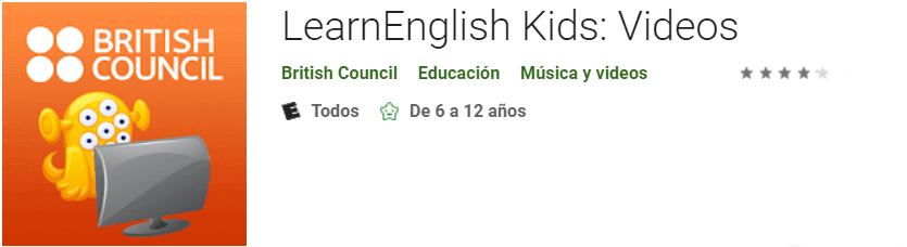 Descargar LearnEnglish Kids