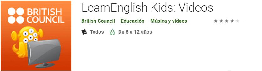 Descargar LearnEnglish Kids