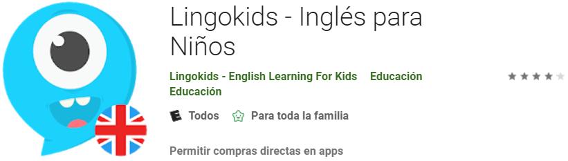 descargar LingoKids para que los niños aprendan ingles