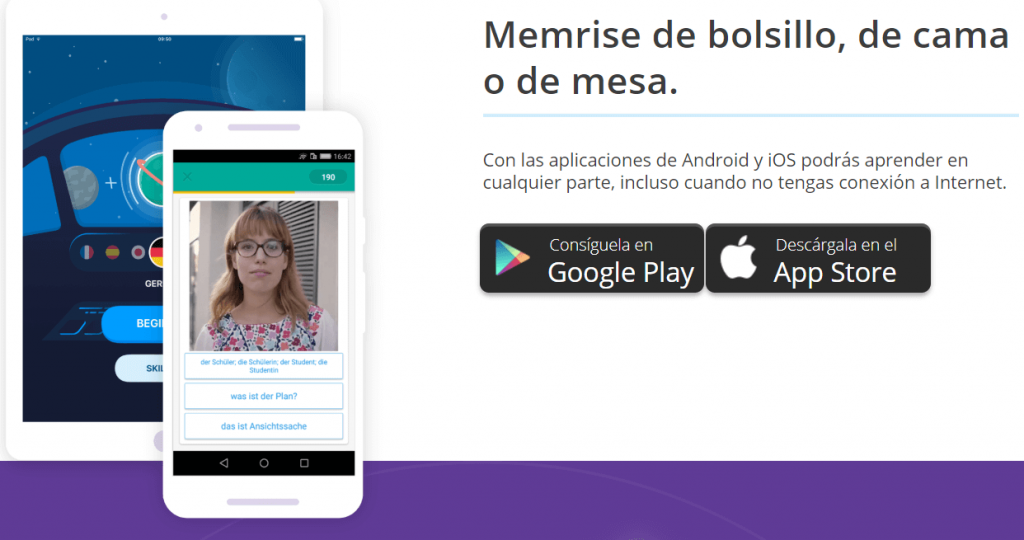 descargar app memrise para celulares