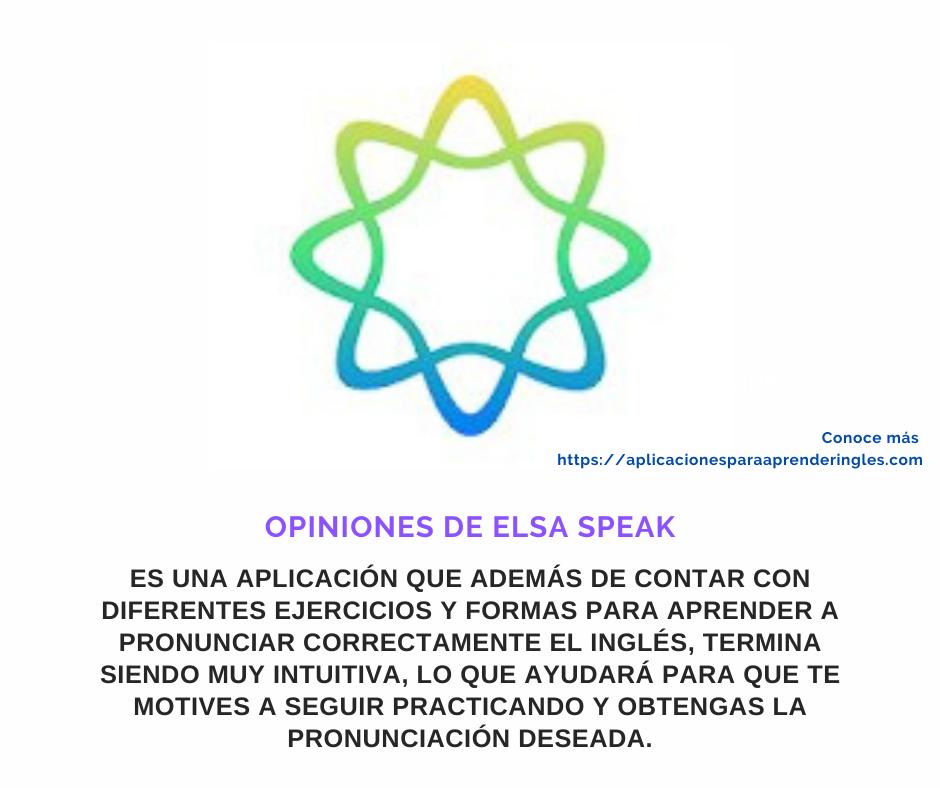 elsa speak opiniones